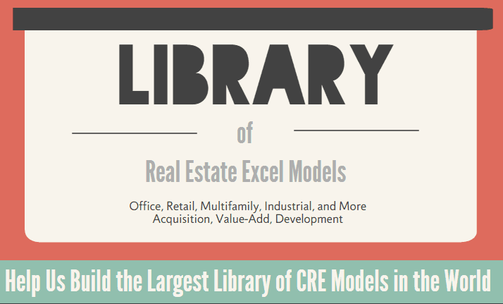A.CRE Library of Excel Models