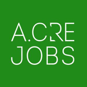 Logo of the adventures in CRE job board, jobs in real estate acquisitions, development, asset management, portfolio management, investment advisory, consulting, and others.